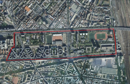 QUARTIERS PRIORITAIRES : PARIS 18EME