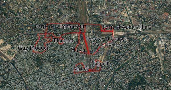 18eme xv3 les quartiers sensibles de paris - Prefecture de police porte de clignancourt ...