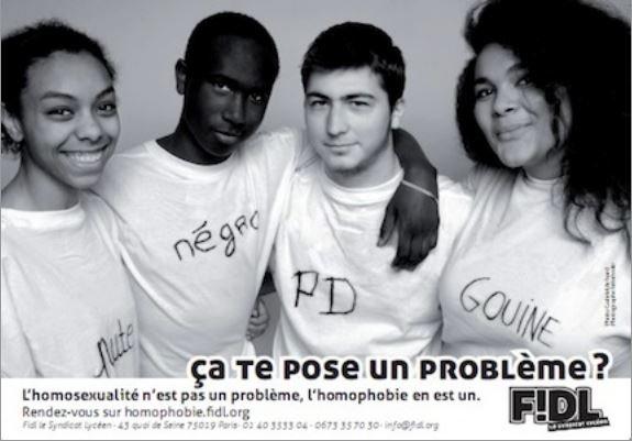 Etre contre LE racisme, c'est être contre TOUTES les discriminations !