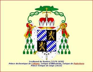 Ferdinand de Bavière (1612-1650) et le daler au lion (Dgs 1031, Chestret 589) atelier d'Hasselt
