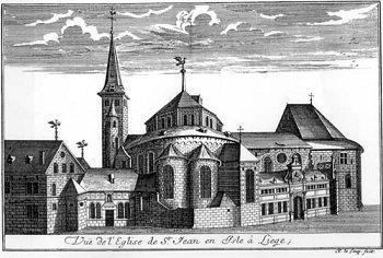 Notger (972-1008) et le denier (Dgs 4) atelier de Liège
