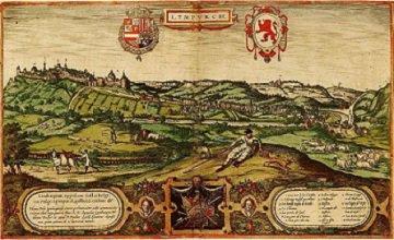 Simon de Limbourg (1193-1195) et le denier (Dgs 393, Chestret 137) atelier de Liège