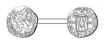 Ferdinand de Bavière (1612-1650) et l'escalin (Dgs 1059, Chestret 606) atelier de Liège