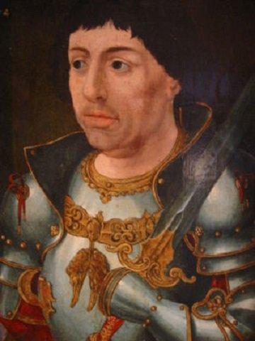 Louis de Bourbon (1456-1482) et le demi-aidant (Dgs 706, Chestret 356) atelier indéterminé