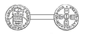 Jean-Louis d'Elderen (1688-1694) et le liard (Dgs 1125, Chestret 655) atelier de Liège