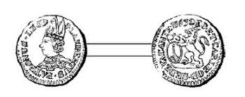 Sede vacante 1763 et l'escalin (Dgs 1185, Chestret 695) atelier de Liège
