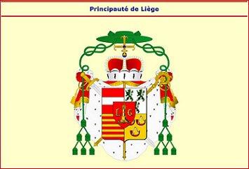Sede vacante 1744 et l'escalin (Dgs 1156, Chestret 677) atelier de Liège