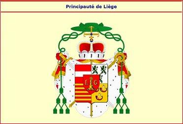 Sede vacante 1763 et l'écu (Dgs 1184, Chestret 694) atelier de Liège