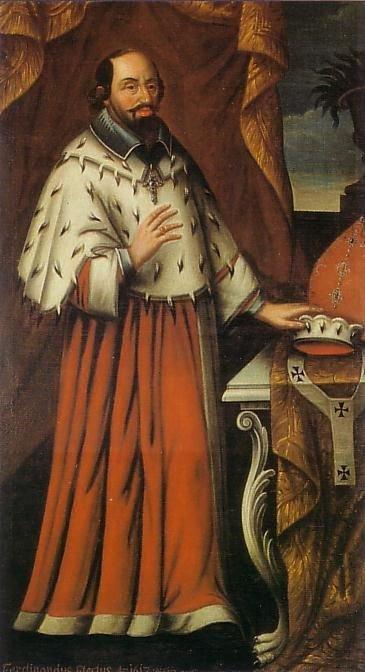 Ferdinand de Bavière (1612-1650) et le liard (Dgs 1035, Chestret 627) atelier d'Hasselt