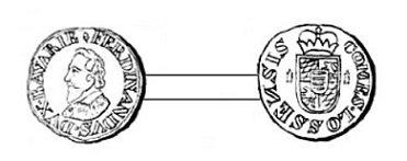 Ferdinand de Bavière (1612-1650) et le demi-liard (Dgs 1076, Chestret 616) atelier de Masseik