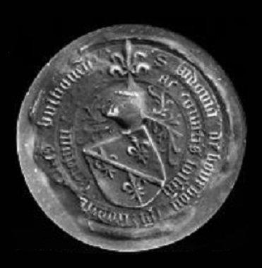 Louis de Bourbon (1456-1482) et le petit brûlé (Dgs 718, Chestret 366) atelier d'Hasselt
