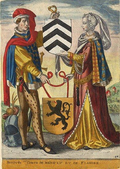 Hugues de Pierrepont (1200-1229) et le denier (Dgs 427) atelier de Liège