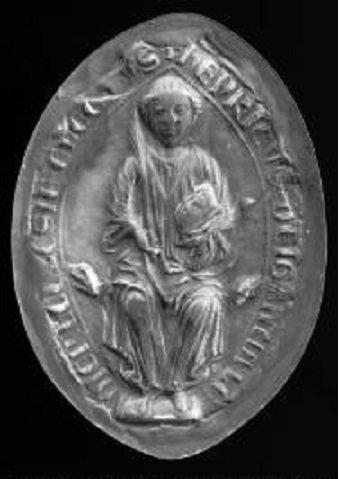 Henri de Gueldre (1247-1274) et le denier (Dgs 493) atelier de Maastricht