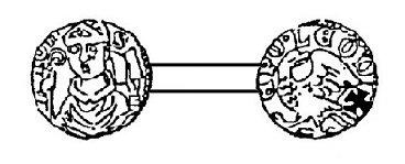 Jean d'Eppes (1229-1238) et le denier (Dgs 449, Chestret 188) atelier de Tongres
