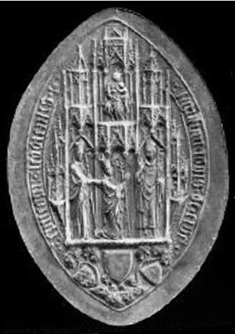 Jean d'Arckel (1364-1378) et le gros (Dgs 574, Chestret 256) atelier de Maastricht