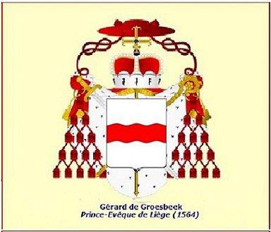 Gérard de Groesbeeck (1564-1580) et le quart de daler (Dgs 937, Chestret 516) atelier de Hasselt