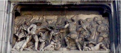 Sede vacante 1771 et l'escalin (Dgs 1189, Chestret 698) atelier de Liège