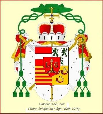 Baldéric II de Looz (1008-1018) et le denier (Dgs 75) atelier de Huy