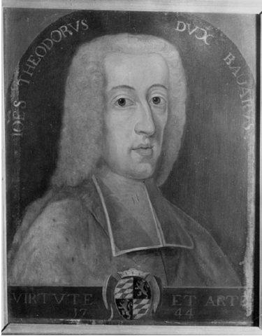 Jean-Théodore de Bavière (1744-1763) et le double liard (Dgs 1177, Chestret 690) atelier de Liège