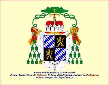 Ferdinand de Bavière (1612-1650) et le tiers de liard (Dgs 1050, Chestret 615) atelier de Liège