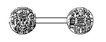 Albert de Cuyck (1194-1200) et le denier (Dgs 400, Chestret 143) atelier de Maastricht