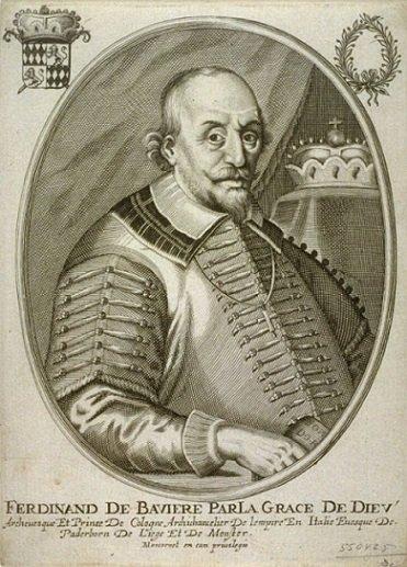 Ferdinand de Bavière (1612-1650) et le liard (Dgs 1064, Chestret 620) atelier de Liège