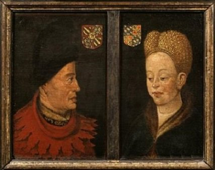 Jean de Bavière (1389-1418) et le griffon d'or (Dgs 604, Chestret 279) atelier de Liège