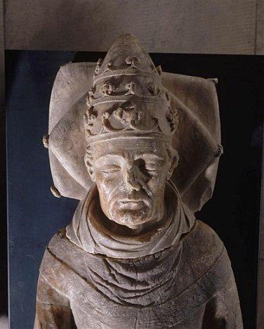 Jean d'Arckel (1364-1378) et le gros au saint Pierre (Dgs 580, Chestret 262) atelier de Maastricht