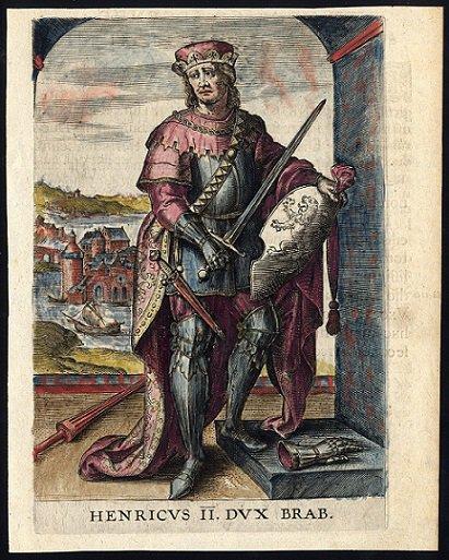 Jean d'Eppes (1229-1238) et le denier (Dgs 450, Chestret 189) atelier de Maastricht