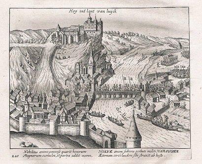 Henri de Leez (1145-1164) et le denier (Dgs 335, Chestret 104) atelier de Huy