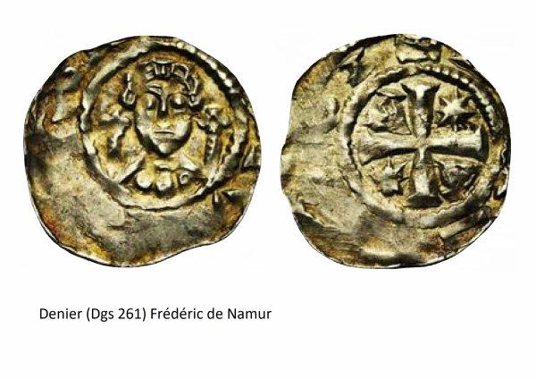 Frédéric de Namur (1119-1121) et le denier (Dgs 261) atelier indéterminé