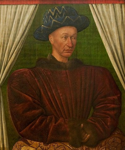 Louis de Bourbon (1456-1482) et le brûlé (Dgs 715, Chestret 365) atelier de Hasselt