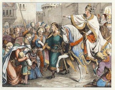 Alexandre 1er de Juliers (1128-1135) et le denier (Dgs 299) atelier de Maastricht