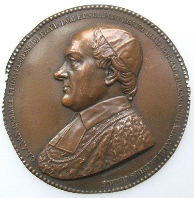 Sede vacante 1852 et le ducat apocryphe (Dgs A11) atelier Bruxelles