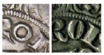 Hugues de Chalon (1296-1301) et le gros tournois (Dgs 506 Chestret 211) atelier de Liège