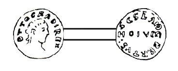 Notger (972-1008) et le denier (Dgs 14) atelier de Huy