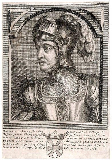 Théoduin (1048-1075) et le denier (Dgs 162, Chestret 13) atelier de Maastricht