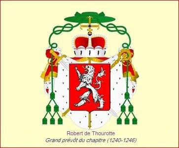 Robert de Thourotte (1240-1246) et l'obole (Dgs 475) atelier de Dinant