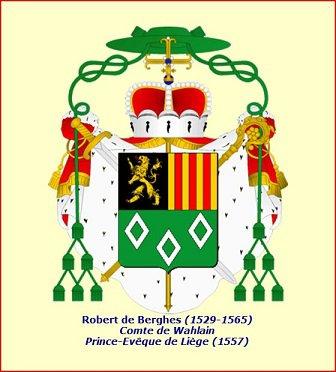 Robert de Berghes (1557-1564) et le demi-daler (Dgs 911, Chestret 501) atelier de Liège