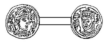 Raoul de Zähringen (1167-1191) et le denier (Dgs 374, Chestret 127) atelier de Maastricht
