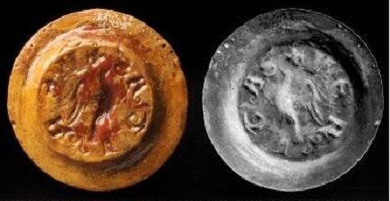 Hugues de Pierrepont (1200-1229) et le denier (Dgs 415, Chestret 155) atelier de Liège
