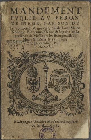 Ernest de Bavière (1581-1612) et le liard (Dgs 973, Chestret 562) atelier de Liège
