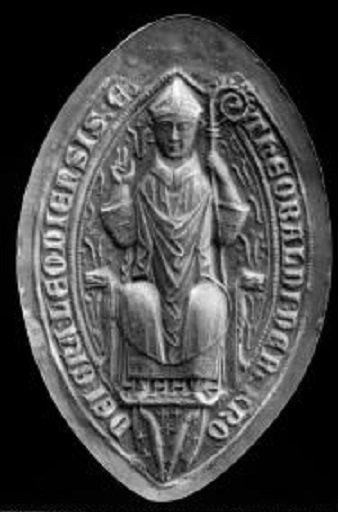 Thibaut de Bar (1302-1312) et le demi-gros (Dgs 521, Chestret 218) atelier de Liège