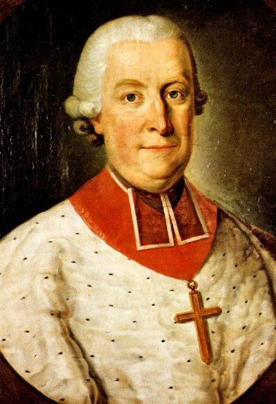 Sede vacante 1771 et l'écu (Dgs 1188, Chestret 697) atelier de Liège