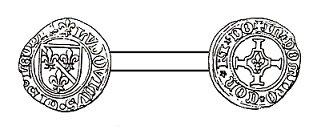 Louis de Bourbon (1456-1482) et le petit brûlé (Dgs 721, Chestret 369) atelier de Liège ou Hasselt
