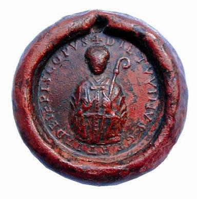 Théoduin (1048-1075) et le denier (Dgs 156, Chestret 29) atelier de Liège