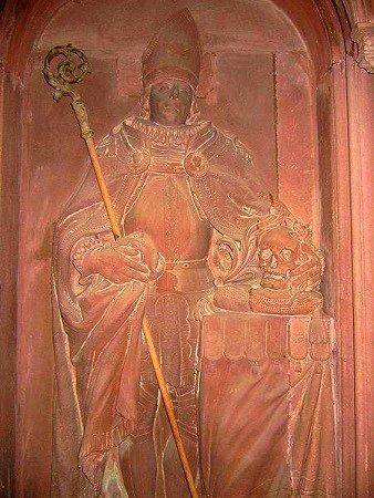 Raoul de Zähringen (1167-1191) et le denier (Dgs 382, Chestret 124) atelier de Huy