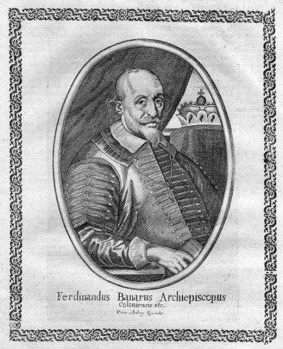Ferdinand de Bavière (1612-1650) et le demi réal (Dgs 1052, Chestret 599) atelier de Liège