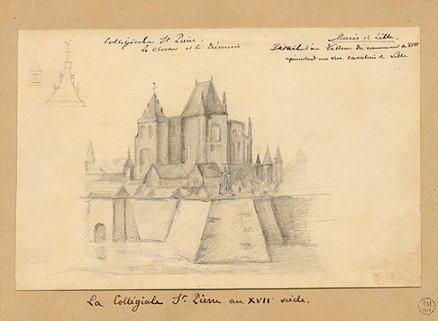 Corneille de Berghes (1538-1544) et le brûlé (Dgs 863, Chestret 468) atelier de Hasselt