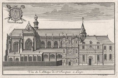 Albert de Cuyck (1195-1200) et le denier (Dgs 398, Chestret 141) atelier de Liège